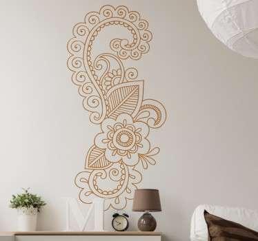 Mandala Motif Wall Sticker