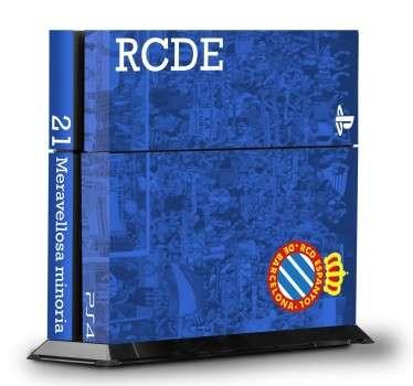 PS4 sticker RCD Espanyol
