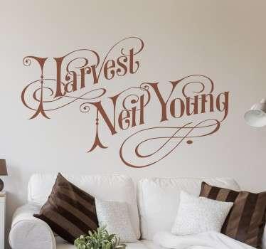 Vinilo Neil Young Harvest