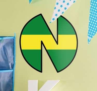 Pegatina logo New Team