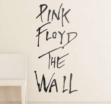 Pink Floyd The Wall Naklejka Ścienna