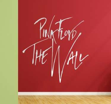 Pink Floyd The Wall Muurtekst