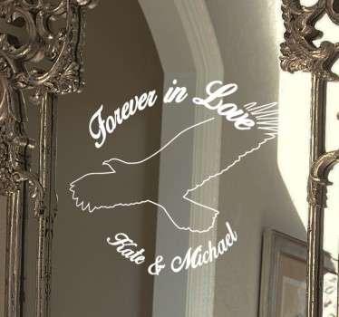 Vinilo decorativo Forever in love