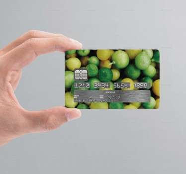 Lemons Credit Card Sticker