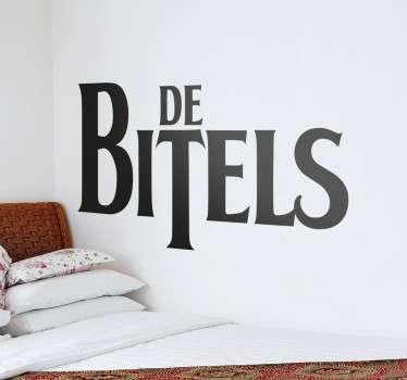 Vinilo decorativo Beatles en español