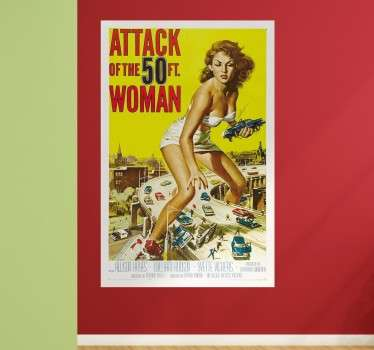 Vinilo poster Attack of the 50 ft woman