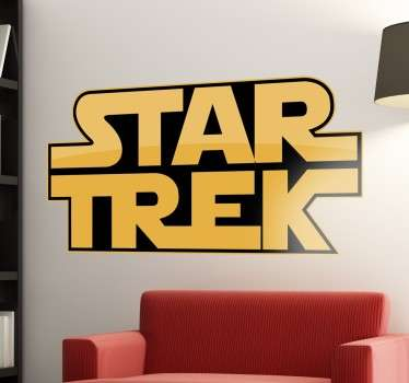 Vinilo decorativo Strar Trek Wars