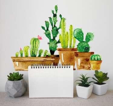 Wandtattoo Kaktus Garten