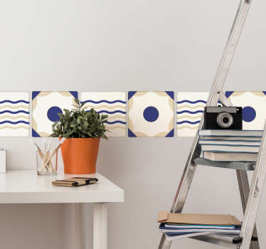 Spanish Tile Sticker border sticker