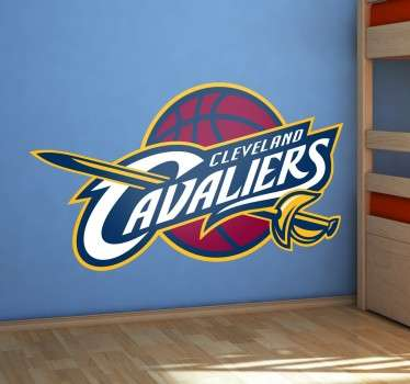 Wandtattoo Cleveland Cavaliers