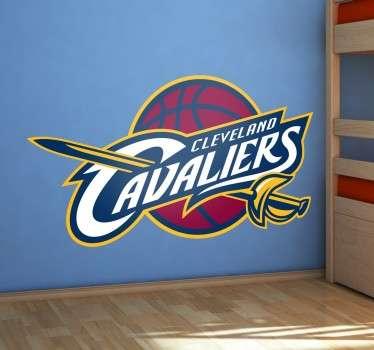 Pegatinas de baloncesto para amantes de la NBA con el escudo de esta famosa franquicia de Ohio.