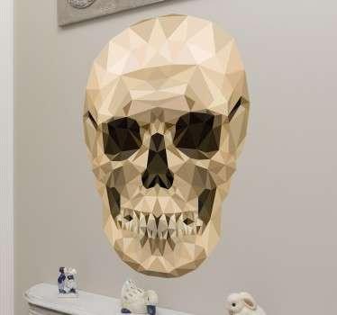 crâne polygonal