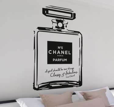 sticker Chanel 5