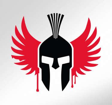 Adesivo Jorge Lorenzo logo spartano