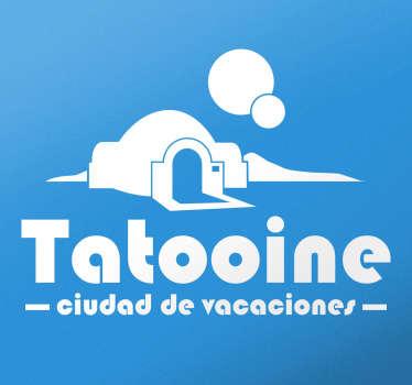 Vinilos frikis Tatooine