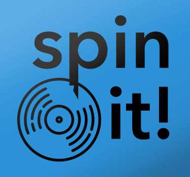 sticker spin it