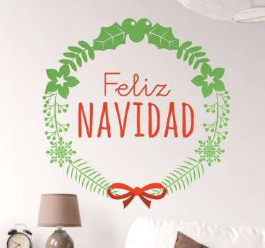 Vinilos decoración Navidad para ambientar con estilo cualquier habitación de tu hogar estas próximas fiestas.