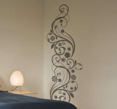 Abstract Ivy Wall Sticker