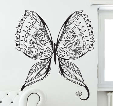 Wandtattoo filigraner Schmetterling