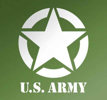 Oss hærens klistremerke