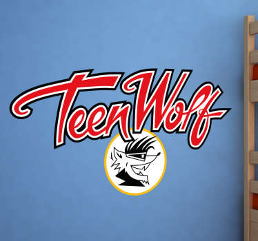 Vinilo Teen Wolf