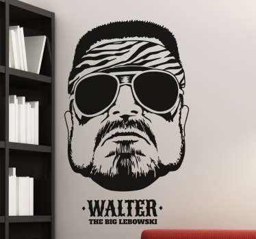 sticker Walter The Big Lebowski