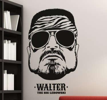 The Big Lebowski Walter Wall Sticker
