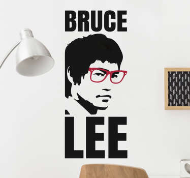 Bruce Lee Wall Sticker