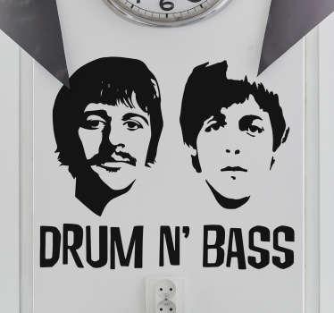 Vinilo Beatles drum n bass