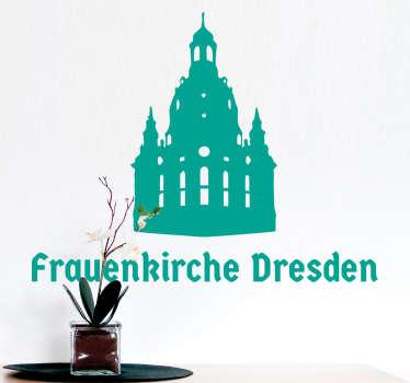 Wandtattoo Frauenkirche Dresden