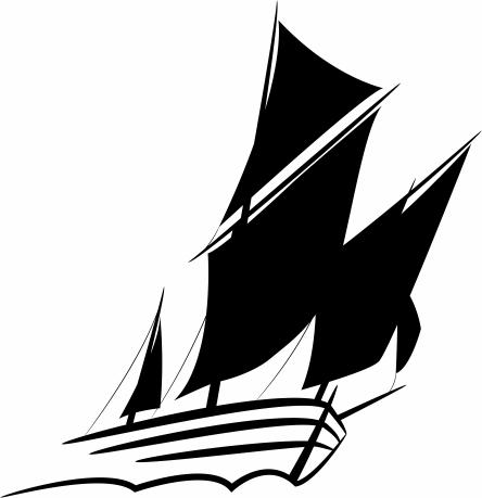 TenStickers. Segelschiff Aufkleber. Wandtattoo Meer - Mit diesem Segelboot Aufkleber können Sie Ihrem Zuhause im Handumdrehen einen maritimen Look verleihen.