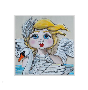 TenStickers. Swan Lake Children's Decorative Wall Sticker. If you're looking for the perfect way to decorate your child's room, look no further than this children's decorative wall vinyl!
