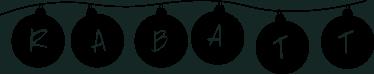 TenStickers. Schaufensteraufkleber Rabatt Weihnachtskugeln. Sie haben tolle Sonderangebote? Dann stellen Sie mit diesem Schaufensteraufkleber Rabatt Weihnachtskugeln sicher, dass Ihre Kunden informiert sind!
