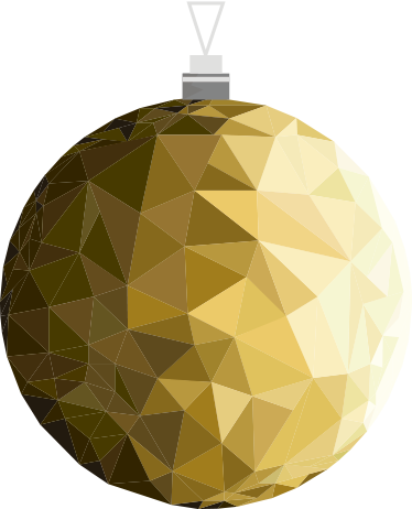 Bolas de navidad doradas fondo de feliz navidad con bolas - Bolas de navidad doradas ...