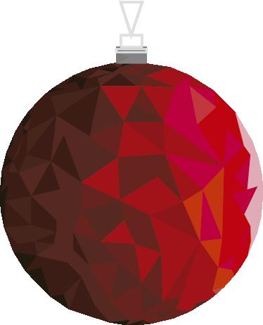 TENSTICKERS. 赤い安物の宝石の壁のステッカー. このクリスマスの装飾的な壁のステッカーは、あなたの家にお祝いの歓声をもたらす完璧な方法です!