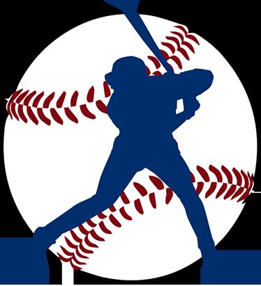 TenStickers. 剪影棒球选手墙贴. 这种棒球墙装饰包括准备击球的剪影棒球击球手。