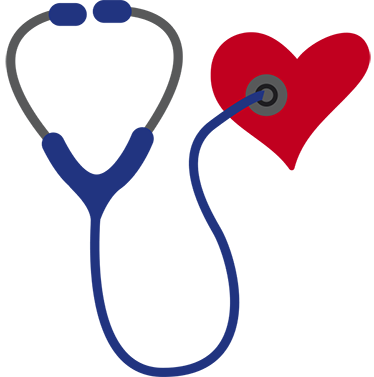 Dessin Stéthoscope sticker cœur stéthoscope - tenstickers