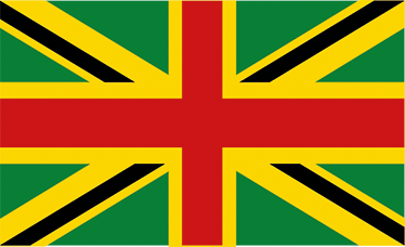 TenStickers. British And Jamaican Flag Wall Sticker. Celebrate multiculturalism with this great wall decoration. This wall sticker consists of the British and Jamaican flag.
