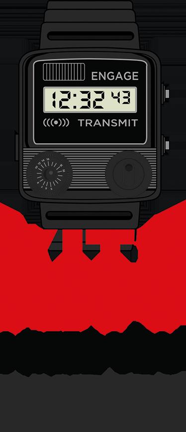 TenStickers. Muursticker Horloge KiITT Knightrider. Muursticker met het Horloge waarmee Micheal altijd KiITT riep in de bekende tv serie uit de jaren 80; Knightrider.