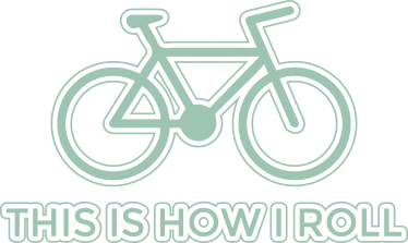 """TenStickers. This is How I Roll Decorative Cycling Sticker. This decorative wall sticker is absolutely ideal for all budding cyclists out there! Featuring the text """"This is how I roll"""" and a simple outline"""