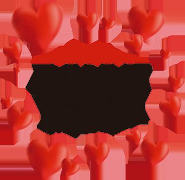 Muursticker I Love You Mom Hartjes Tenstickers