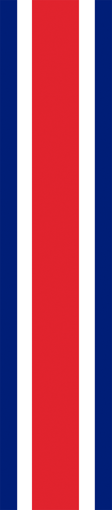 TenStickers. Great Britain Car Stripe Sticker. Colours of Great Britain car sticker - Car stripe sticker that features the colours of Great Britain is the perfect way to add style your car.