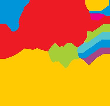 TenStickers. Muursticker I love my Papa. Muursticker met de tekst ¨I love my Papa¨, met elk woord in verschillende kleuren en een stropdas naast de tekst.