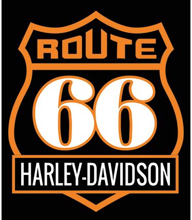 TenStickers. Wandtattoo Route 66 Harley Davidson. Dieses Wandtattoo zeigt die zwei untrennbaren Elemente für Motorradfahrer in den USA: Die Route 66 und Harley Davidson.
