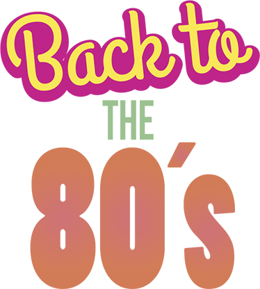 TenStickers. Decoratie sticker back to the 80´s. De tekst sticker ´back tot the 80´s geeft weer wat iedereen weleens denkt! Deze decoratie symboliseert de gedachten van vele mensen geboren voor 1980.