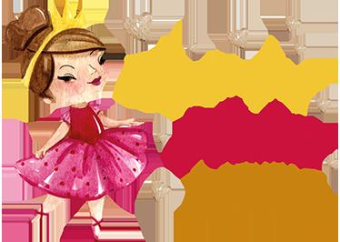 TenStickers. Naklejka na ścianę mała Księżniczka. Naklejka personalizowana dla każdej małej księżniczki, która pozwoli oznaczyć Twoje łózko i udekorować jednocześnie pokój.