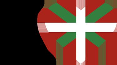 "TenVinilo. Pegatina bandera Euskadi corazón. Vinilos Euskadi con la representación icónica de ""I Love Euskadi"" en vivos colores."