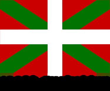 "TenVinilo. Vinilo bandera de Euskadi Euskaldun. Vinilo Bandera Euskalduna y la frase ""100% euskaldun"" especial para los vascos de pro con la bandera tricolor de este bonito país."