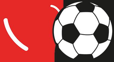 TenStickers. Sticker ballon coeur. Sticker pour décorer la maison et pour créer un espace original. Si vous êtes un fan de football c'est l'autocollant parfait pour vous.