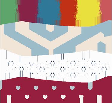 TenStickers. Autocolante sardinhas. Vinil Sardinhas dos Santos . Decore a sua casa com este vinil autocolante das famosas sardinhas com padrões  por um preço incrível.